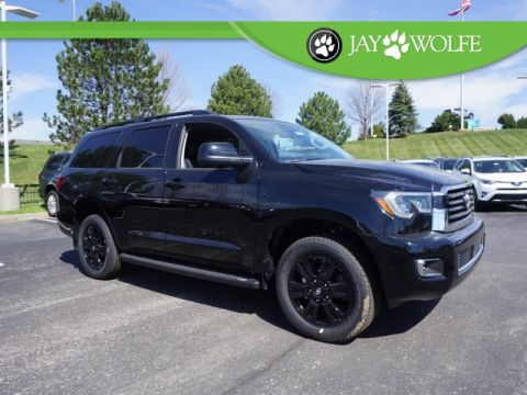 New 2018 Toyota Sequoia TRD Sport 4D Sport Utility 4WD
