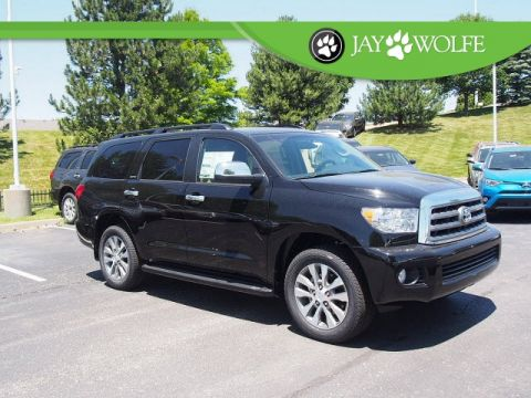 New 2017 Toyota Sequoia Limited 4D Sport Utility 4WD