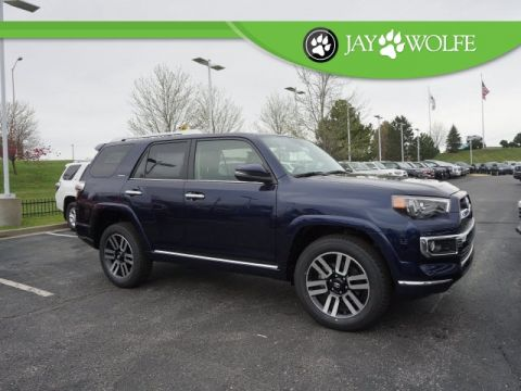 New 2018 Toyota 4Runner Limited 4D Sport Utility 4WD