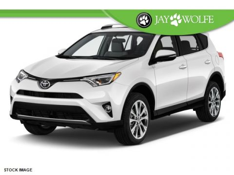 New 2017 Toyota RAV4 Limited 4D Sport Utility AWD