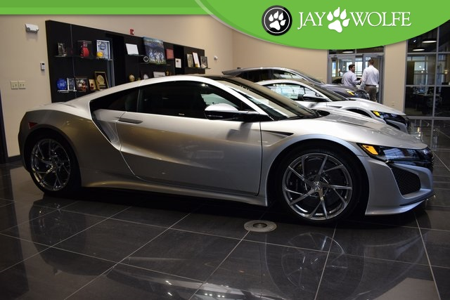 Pre Owned 2017 Acura Nsx Base 2d Coupe In Kansas City A50367a Jay