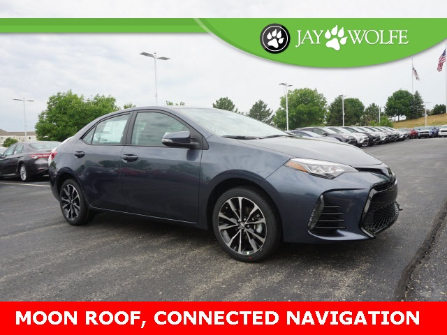 New 2019 Toyota Corolla Se 4d Sedan In Kansas City T190021 Jay
