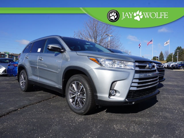 New 2019 Toyota Highlander Hybrid Xle V6 Awd At Keyes Cars
