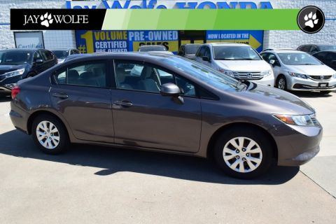 Pre-Owned 2012 Honda Civic LX